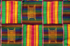 traditioneller Kente  aus Ghana